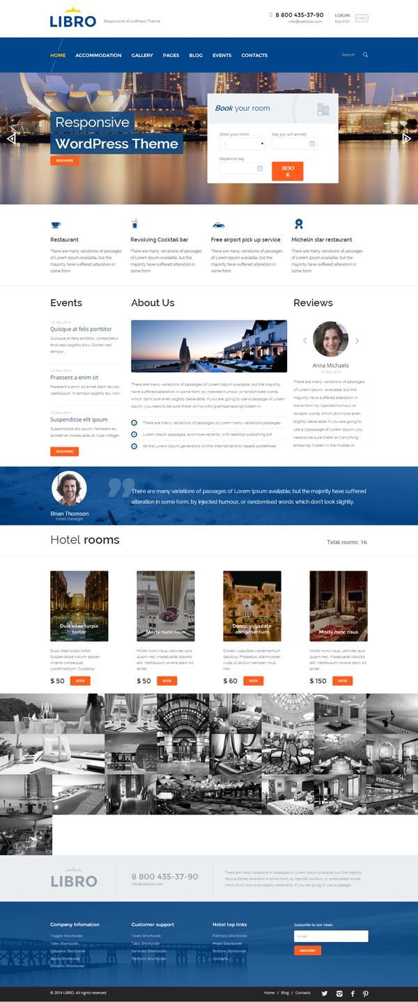Libro Html Libro Responsive Wordpress Theme Advertising Designing Your