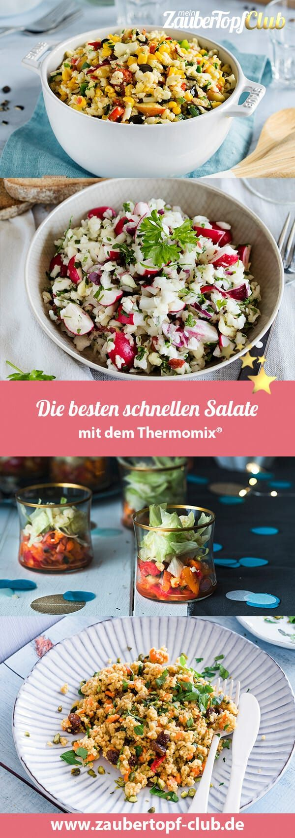 Ruck Zuck fertig: Schnelle Salate – Rezepte für Thermomix®