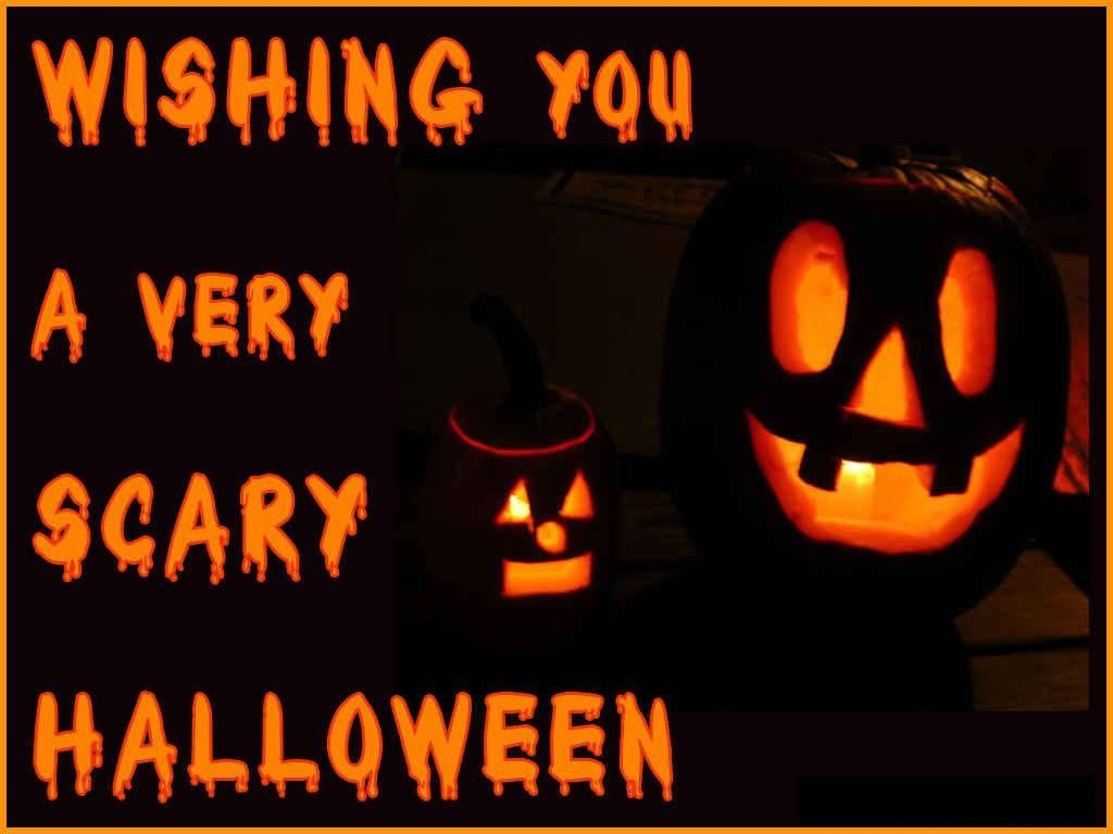 Wishing You A Scary Halloween Halloween Happy Halloween Halloween Quotes  Halloween Quote Happy Halloween Quotes