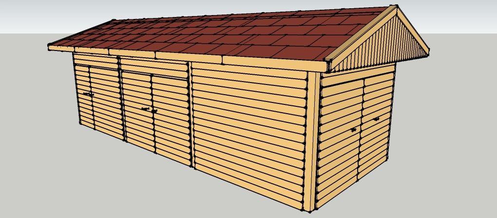 ger teschuppen und lagerraum zum selber bauen bauanleitungen baupl ne selberbauen schuppen. Black Bedroom Furniture Sets. Home Design Ideas