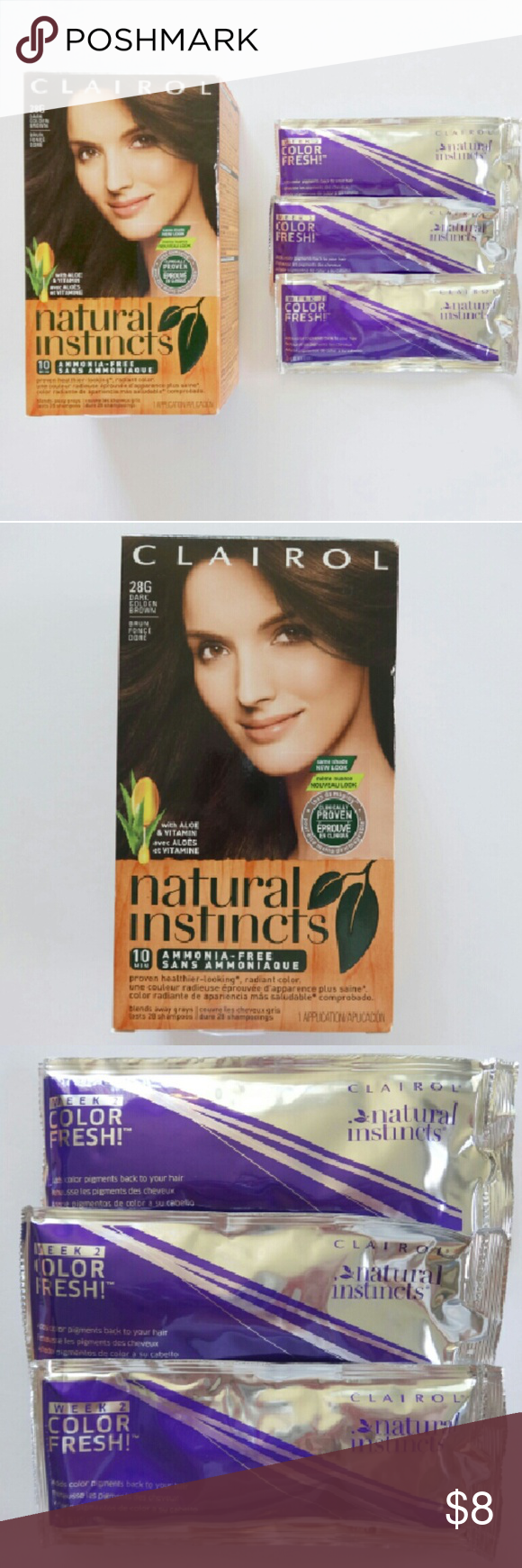 Last Chance Clairol Hair Color 1 Unopened Box Of Clairol Natural Instincts Hai Clairol Natural Instincts Colors Clairol Natural Instincts Clairol Hair Color