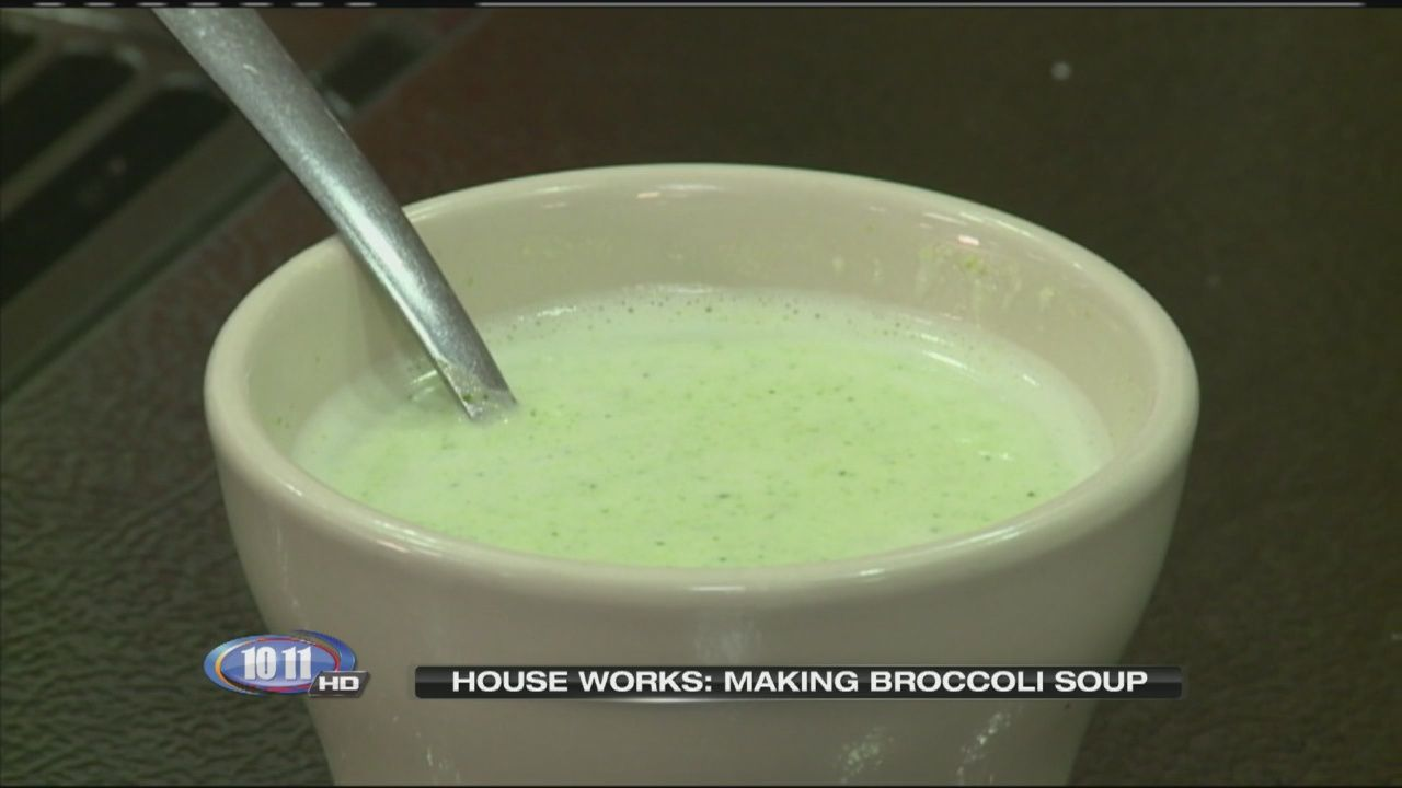 It's been a rather mild January, but still it's winter. And that means it's a great time for soup. In House Works, we hear from the owner of the Lincoln French restaurant 'The Normandy' on how to make broccoli soup. And the good news is...there aren't many ingredients.