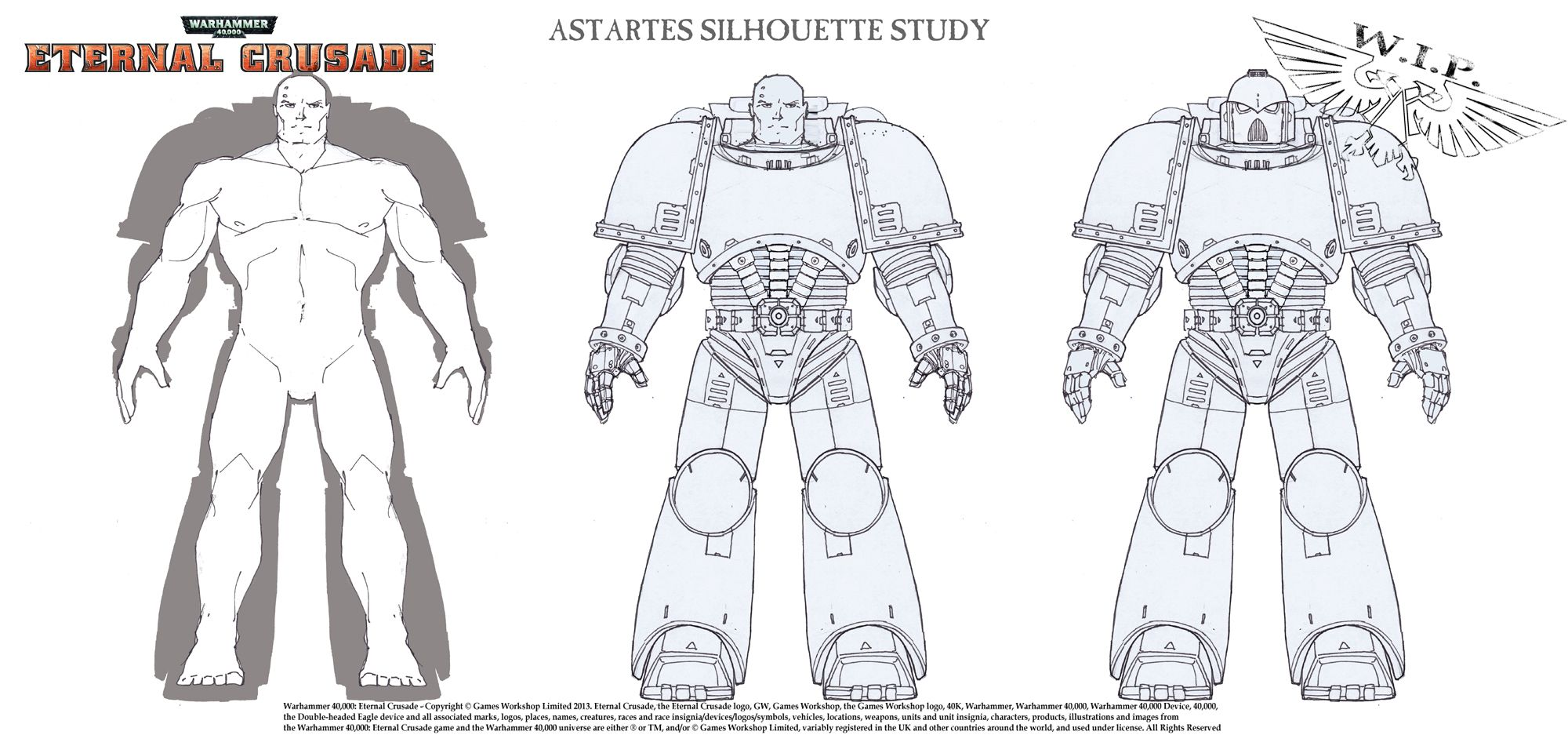 Space Marine Proportions