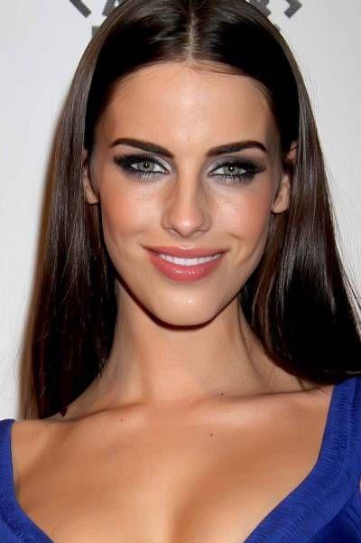 Make up vestido azul