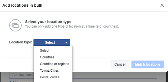 How to Target Your Facebook Posts to a Specific Country or City