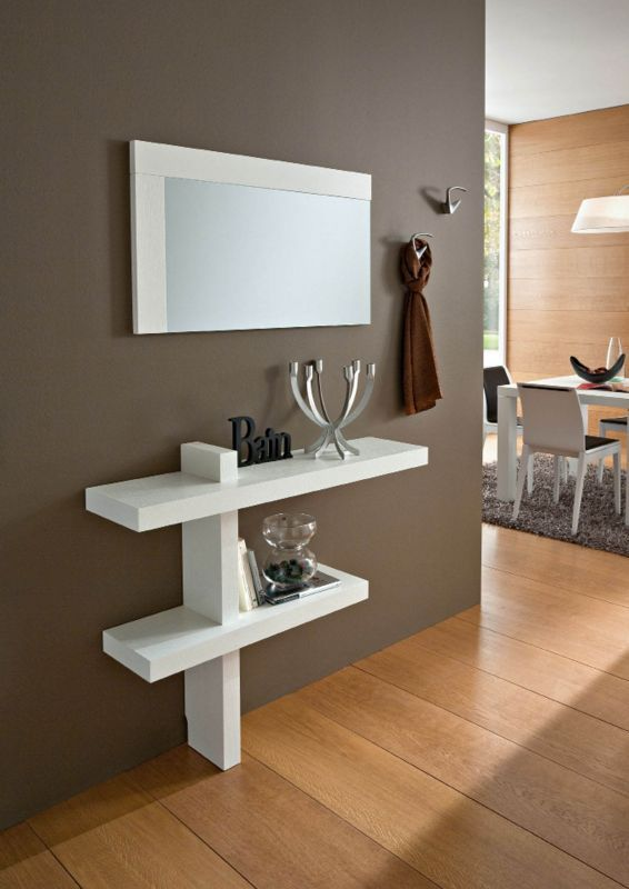 Mobile moderno consolle ingresso mod sandy hall for Moderno furniture