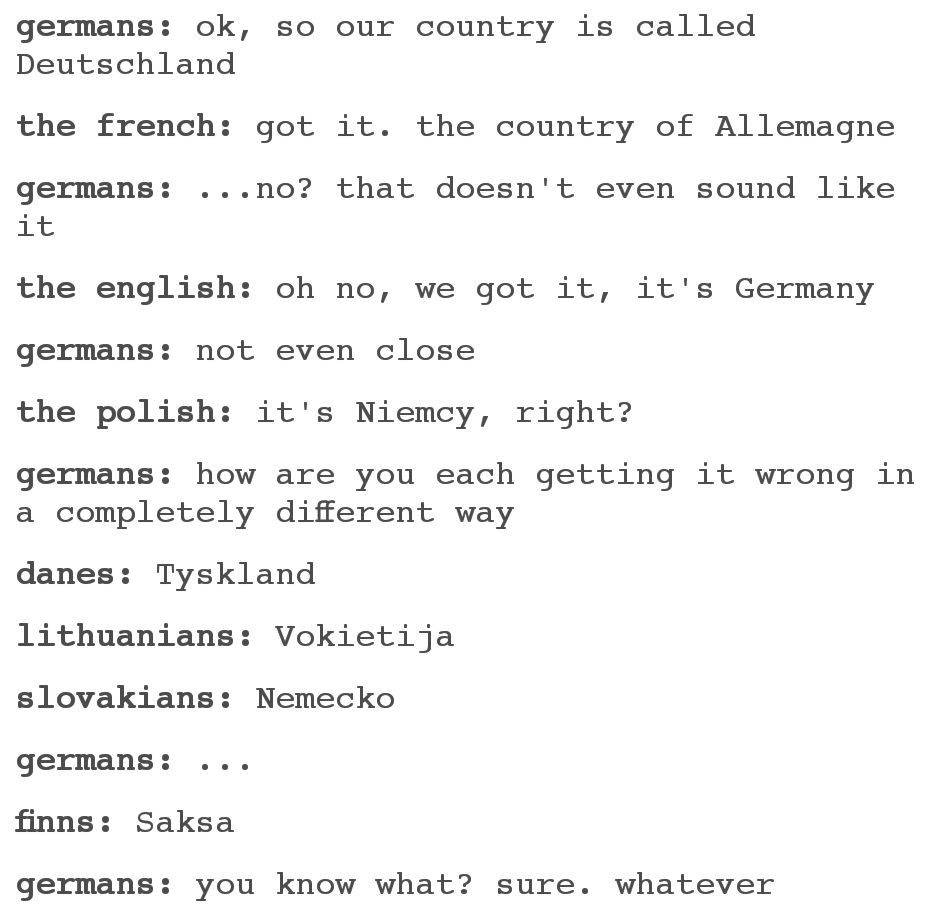 Photo of Don't be a Deutsch about it