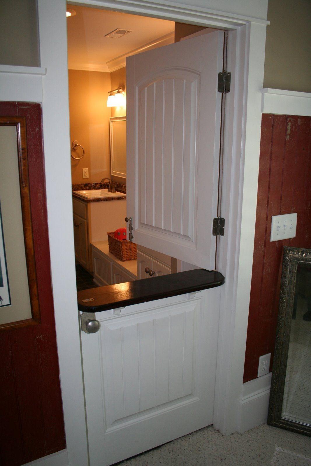 Door Idea Between Kitchen And Laundry Room