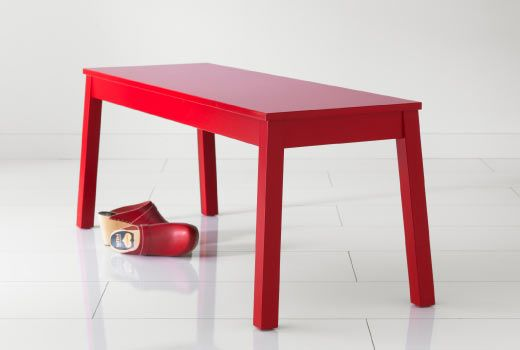 Sigurd Bench Red Or White