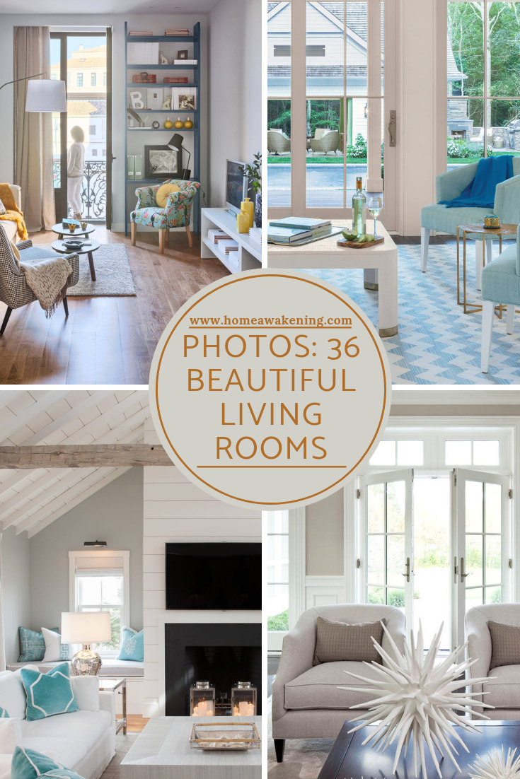 Design Your Own Room: 36 Beautiful Living Rooms You'll Want For Yourself