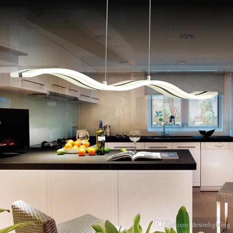 Luz led cocina iluminacin moderna w llev la lmpara de - Luz para cocinas ...