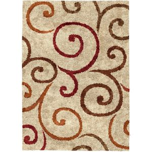 Better Homes And Gardens Swirls Area Rug Beige