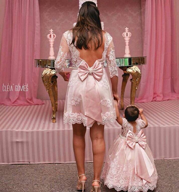 Vestidos iguales madre e hija | cumple zuli | Pinterest | Madres ...