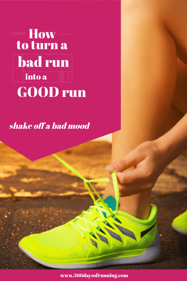 How to turn a good run into a bad run - Shaking off a bad mood - love running again - #running #good...