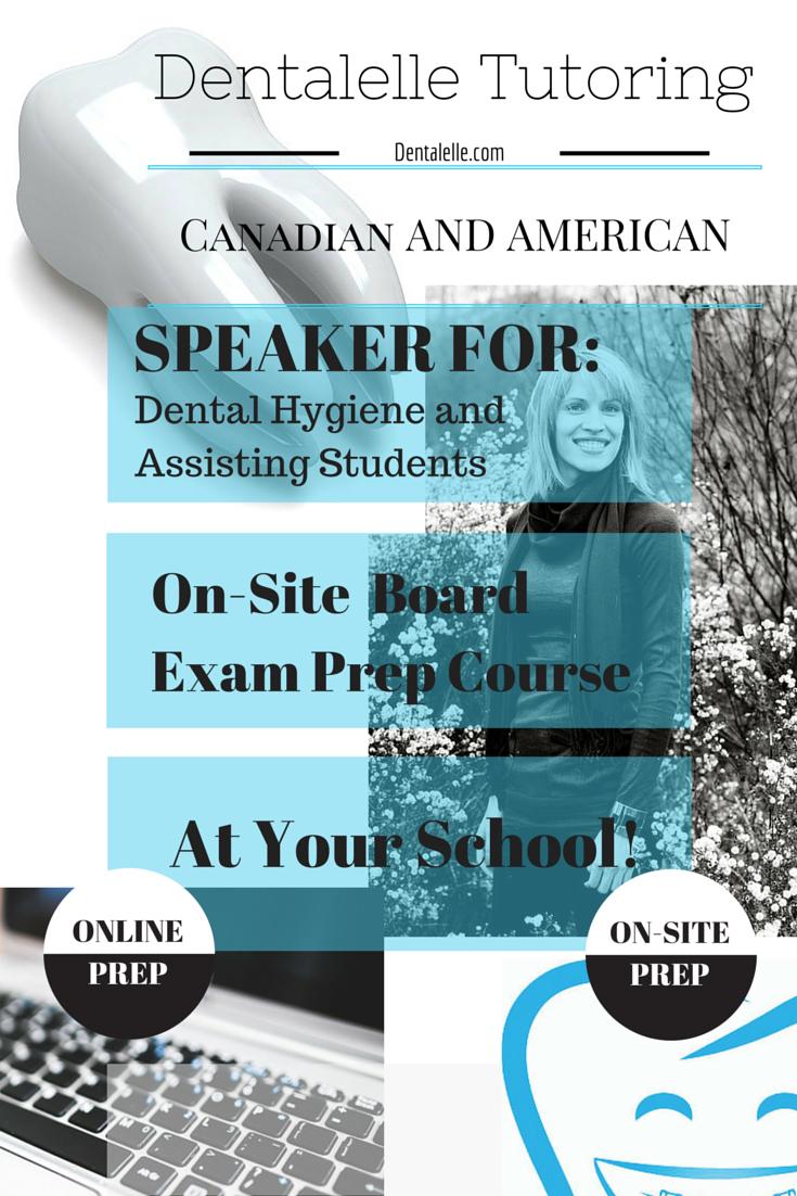 Invite Andrea to come host a FULL Board Exam Prep Course for your