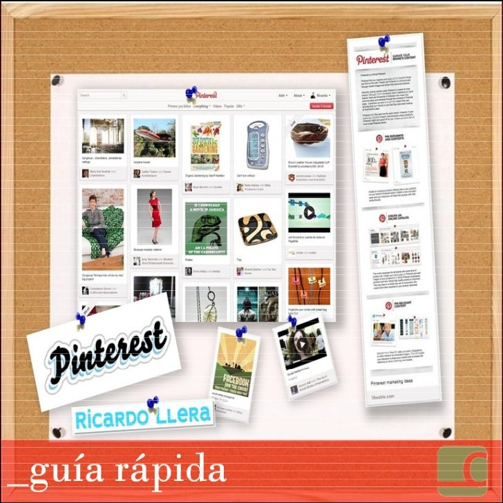 guia-rapida-de-pinterest by Ricardo Llera via Slideshare