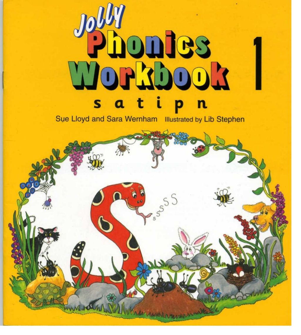 Jolly Phonics Workbook 1 By Teach And Learn Via Slideshare