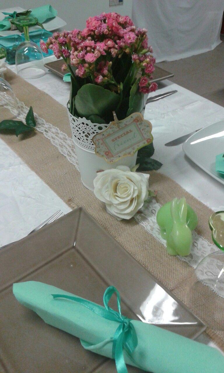 Decoracao mesa dos convidados festa aniversário 59 - atelier katy mota