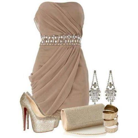 Vestido Especial Para Una Cena Ropa De Coctel Ropa Hermosa Ropa Elegante Para Dama