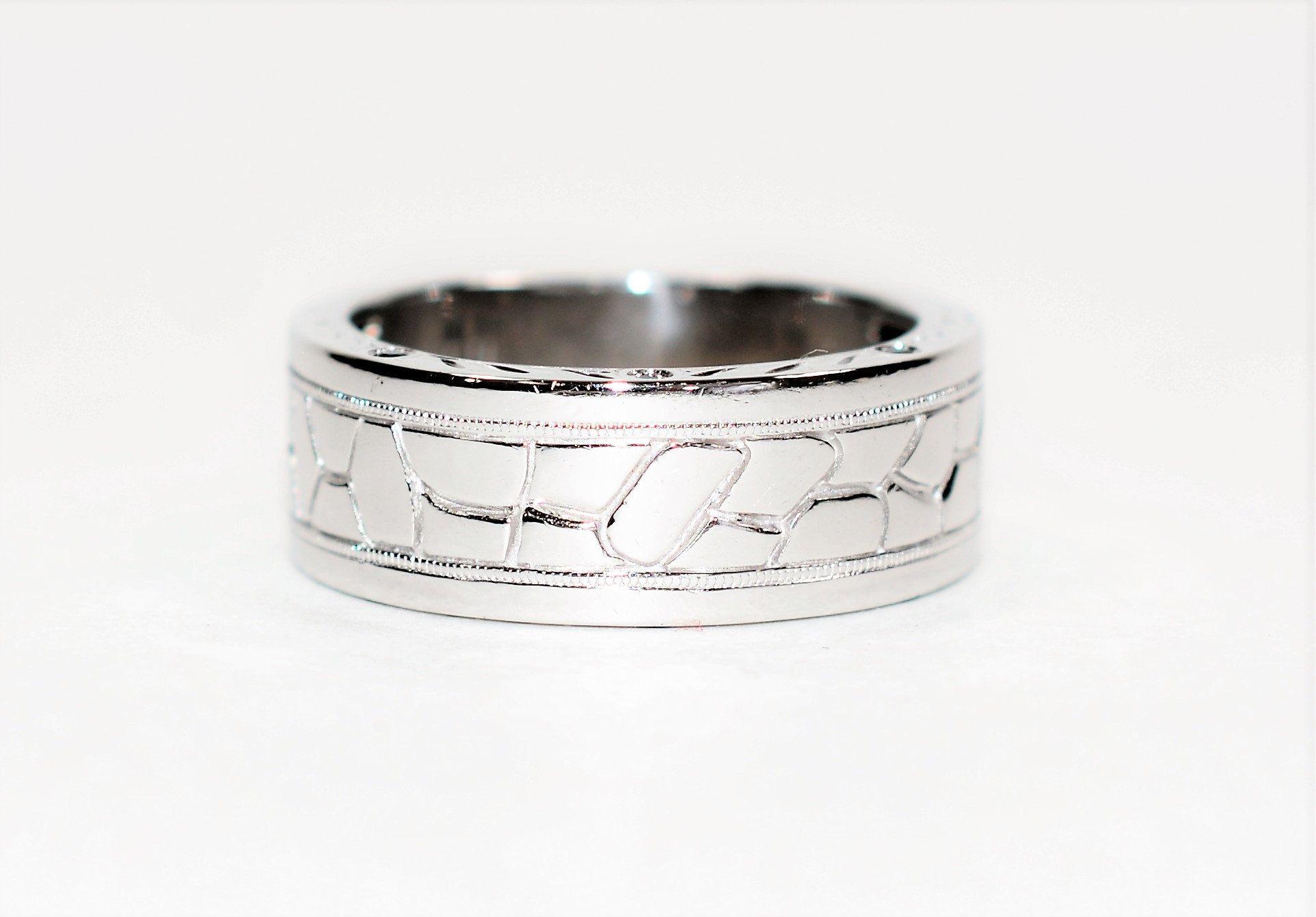 Neil Lane .05tcw Black Diamond 14kt White Gold Wedding