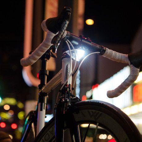 Sparse, Bright Streamlined Night Riding