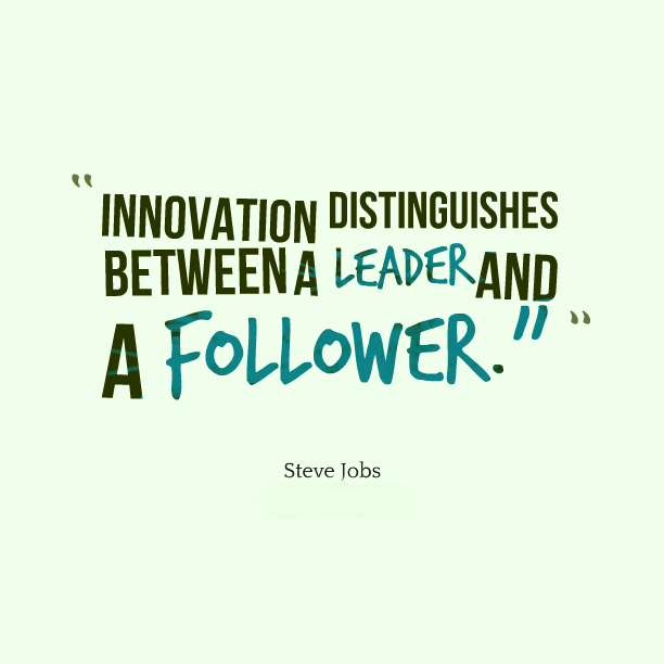 Innovation makes all the difference.