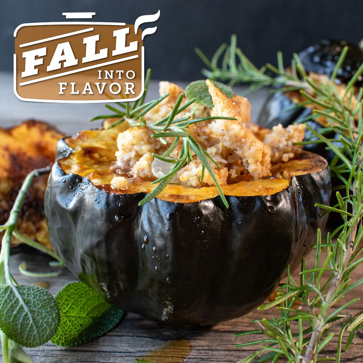 This Baked Acorn Squash Ground Beef Recipe Has All The Amazing Flavors Of Fall Packed Into One Beautiful Dish Clove Cinnamo