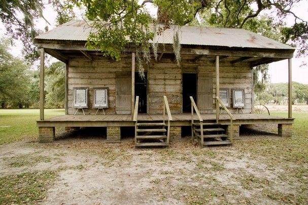Slave cabins plantation louisiana slave quarters at for Wallace homes