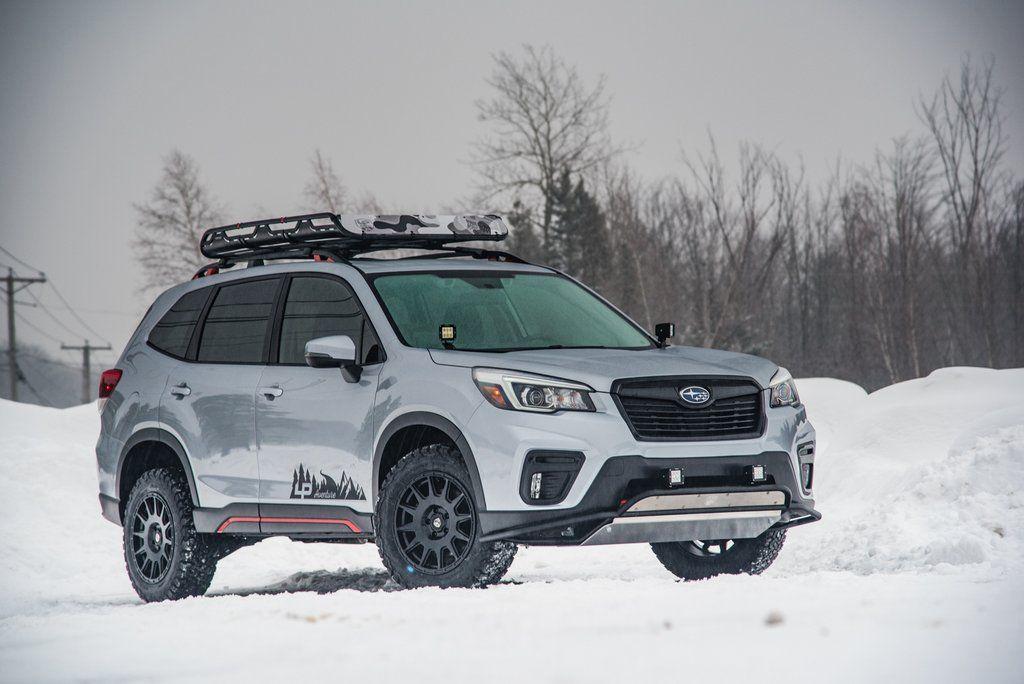 2019 Subaru Forester Sport LP Aventure Ice Silver