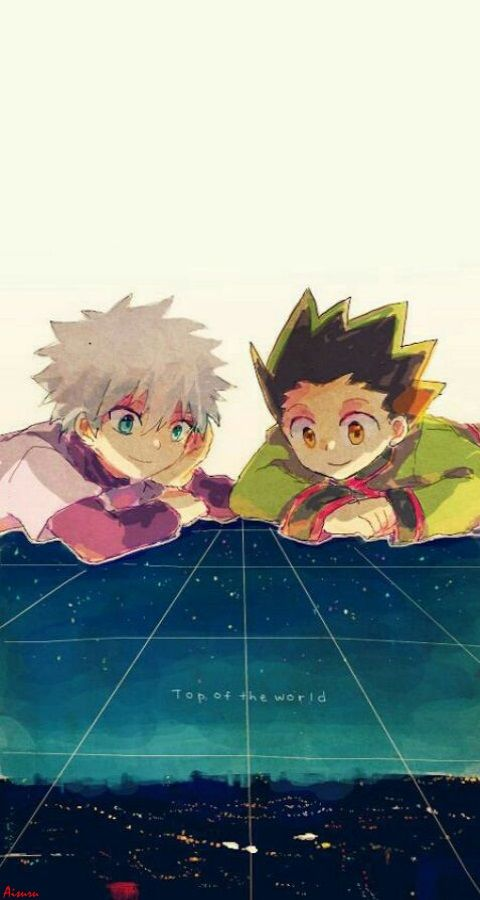 Killua & Gon Hunter X Hunter Wallpaper IPhone my edition A