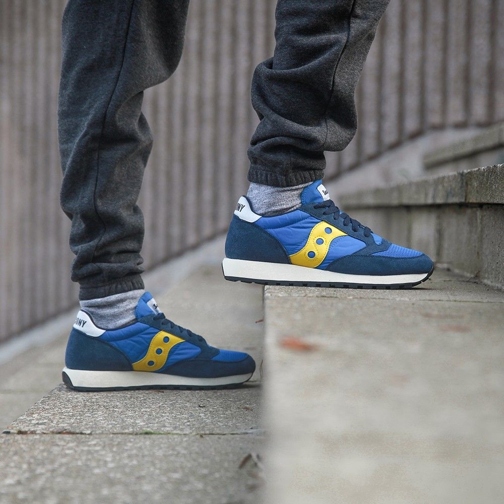 55a5686631fc Saucony Jazz Original Vintage  Jazz Vintage Pack  (blue   yellow) - Free  Shipping starts at 75€ - thegoodwillout.com