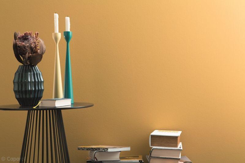 gelbe wandfarbe im vintage look mehr dazu auf kolorat wandfarbe gelb vintage. Black Bedroom Furniture Sets. Home Design Ideas
