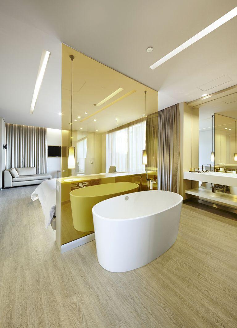 Acquafloor Color Roble Tr Pico Www Acquafloor Com Proyecto Hotel  # Muebles Un Kuarto Bogota