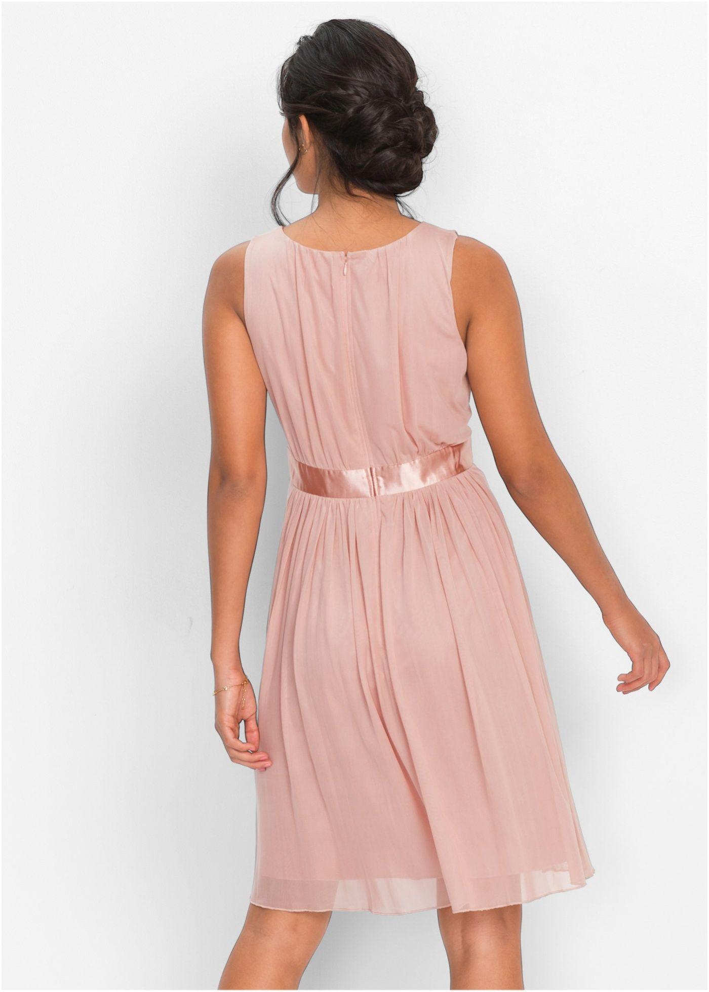 a4580d5d35 Commandez maintenant Robe rose vintage à partir de 29,99 ? sur bonprix.fr.  Robe romantique de la marque BODYFLIRT. Avec ruban en satin à la taille et .