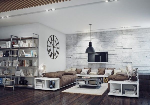 20 Terrific Living Rooms Industrial Style Living Room Minimalist Living Room Design Industrial Living Room Design