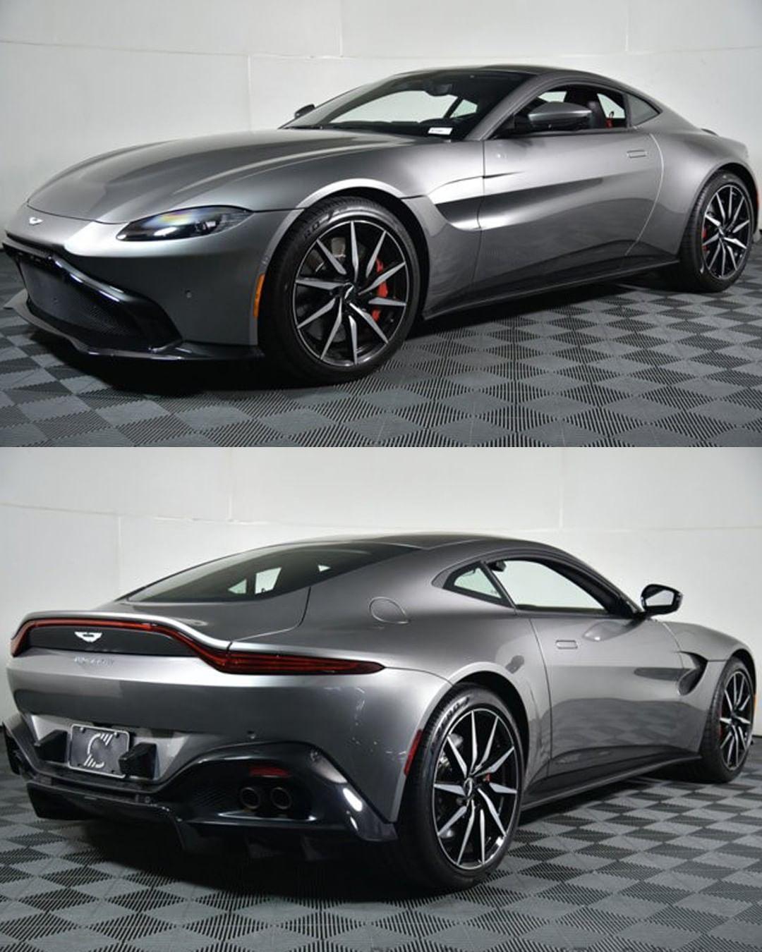 2019 Aston Martin Vantage - Engin