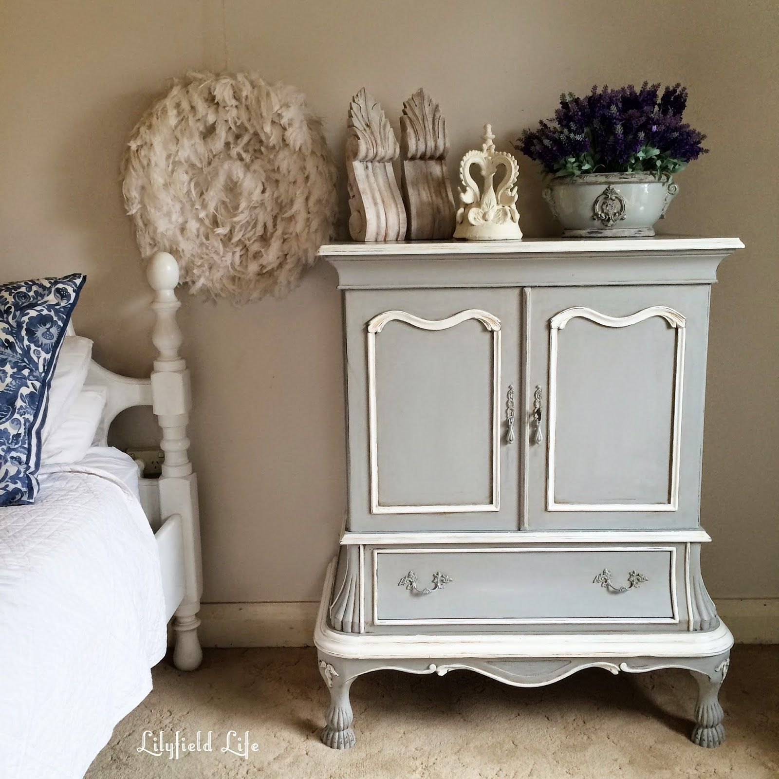 TV Cabinet turned French Armoire by Lilyfield Life | Lilyfield ...