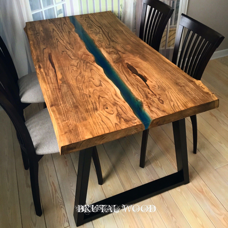 pin von brutal wood auf table river table pinterest. Black Bedroom Furniture Sets. Home Design Ideas