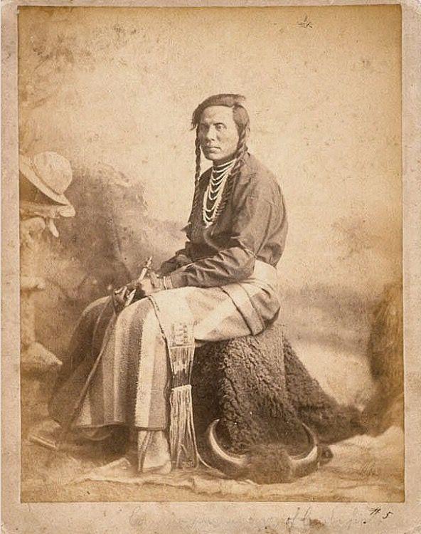 Curly (1859 - 22 мая 1923), Кроу. W. B. Finch, период 1880. National Portrait Gallery, Smithsonian Institution