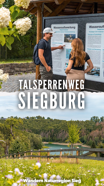 Talsperrenweg Siegburg | Wahnbachtalsperre | Erlebnisweg Sieg