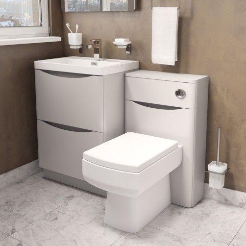Bali Matt Grey Vanity Unit 900mm Grey Vanity Unit Grey Bathroom