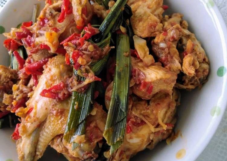 Resep Ayam Balado Pandan Yang Sempurna Di 2020 Resep Ayam Resep Ayam Goreng