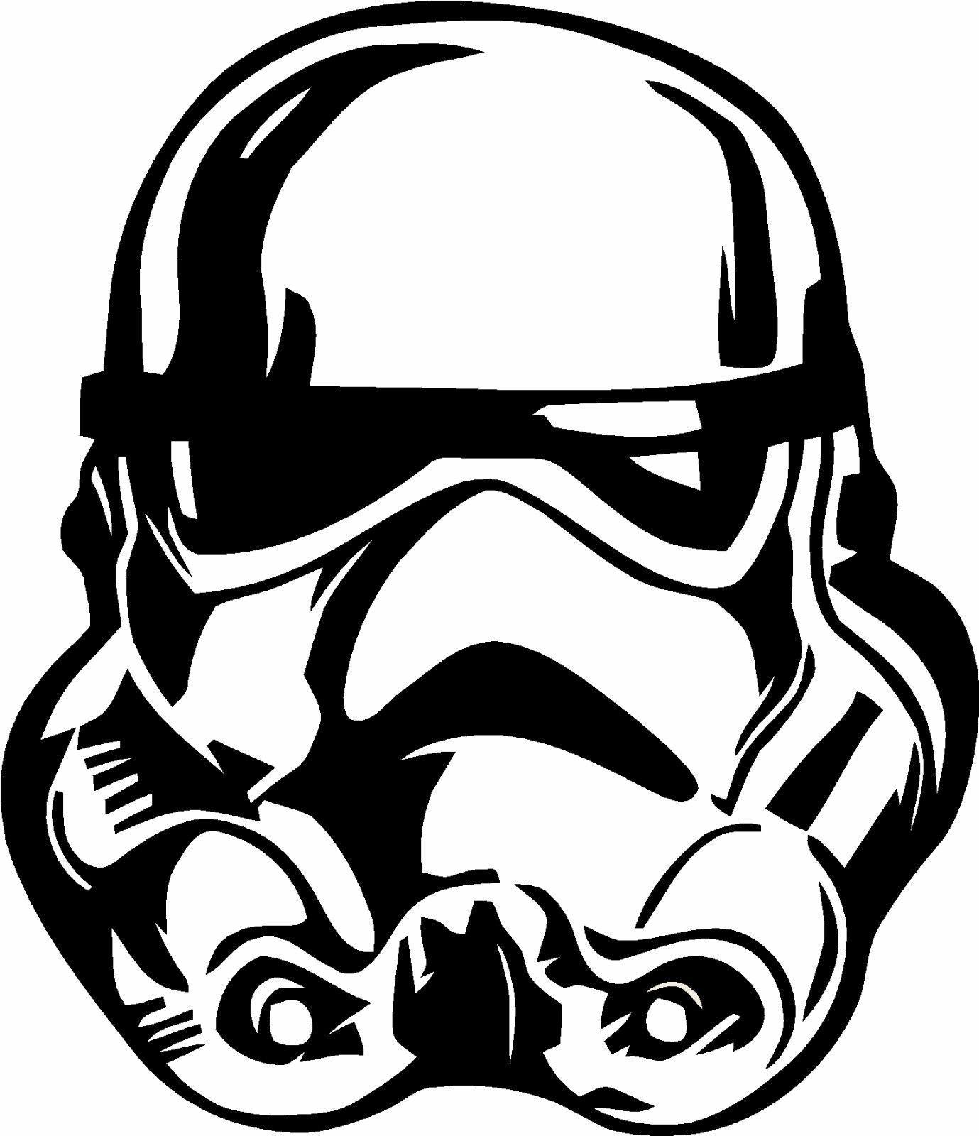 Stormtrooper star wars vinyl decal sticker