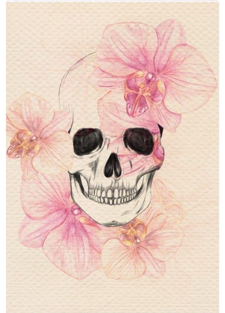 dessin cr ne orchid es tatoo tatouage tatouages t te. Black Bedroom Furniture Sets. Home Design Ideas