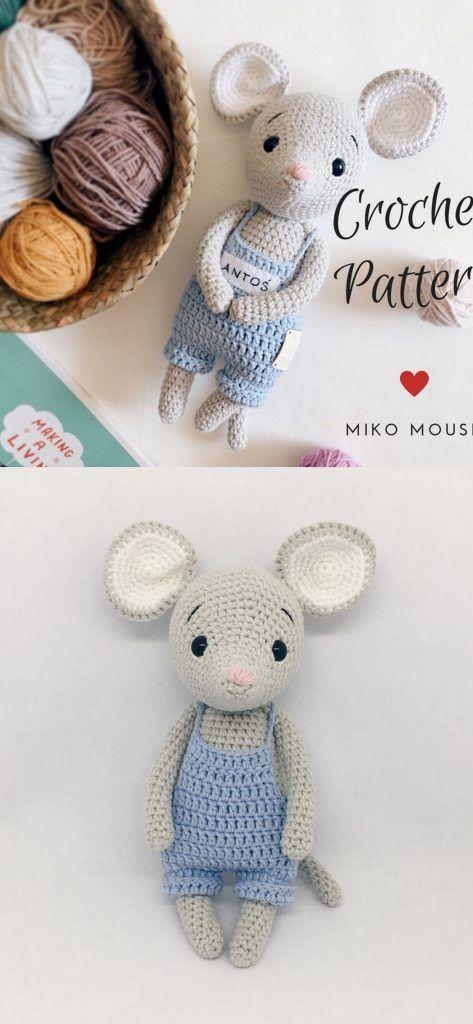20 Best Amigurumi Crochet Patterns - Amigurumi #crochetpatterns