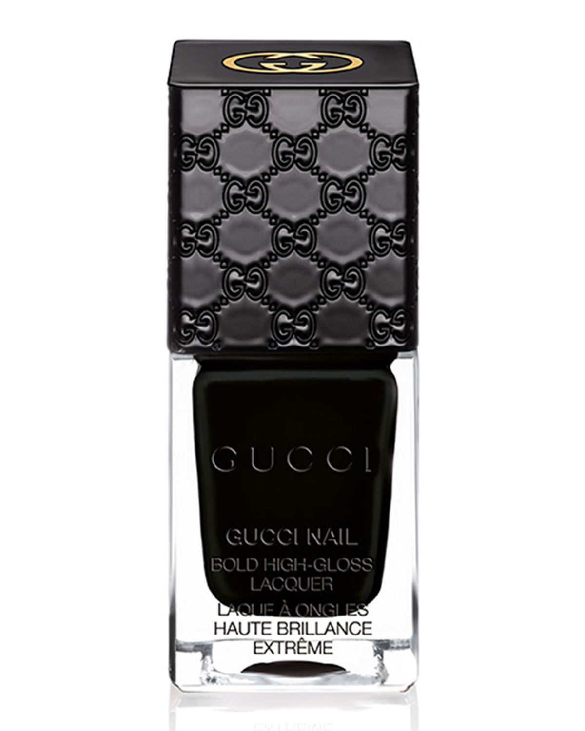 4ca9820b69c Gucci Bold High-Gloss Lacquer Iconic Black 10 mL in 2019 | The Art ...