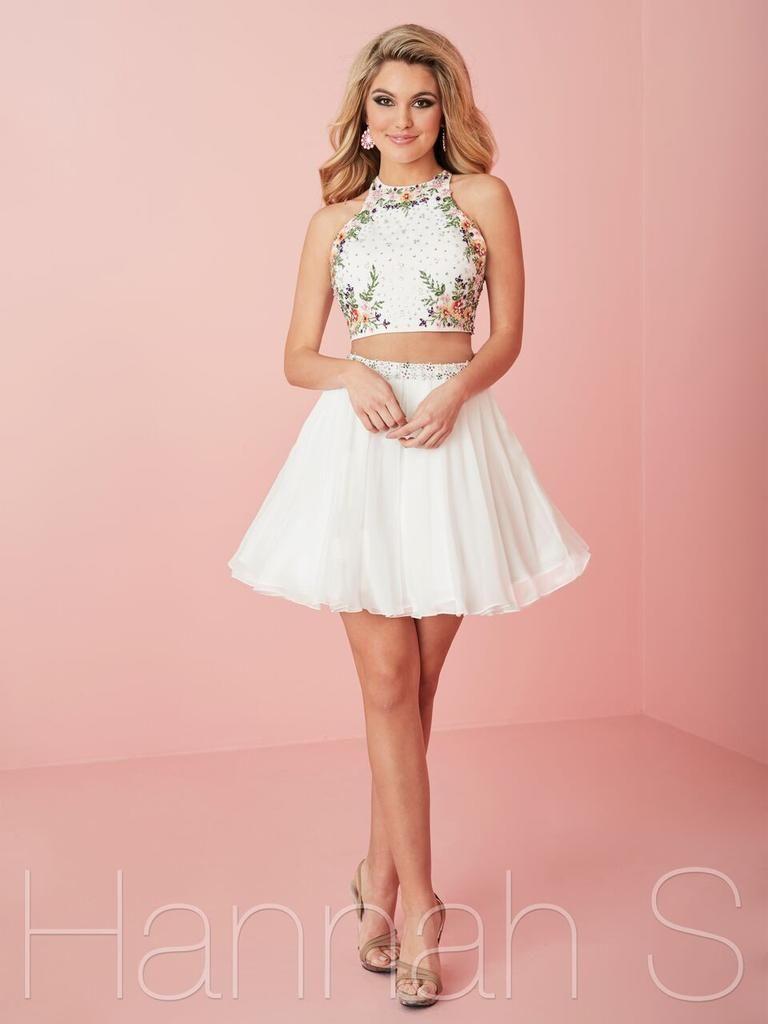 27111 White/Multi Short Homecoming Dress | Hoco Dresses ...