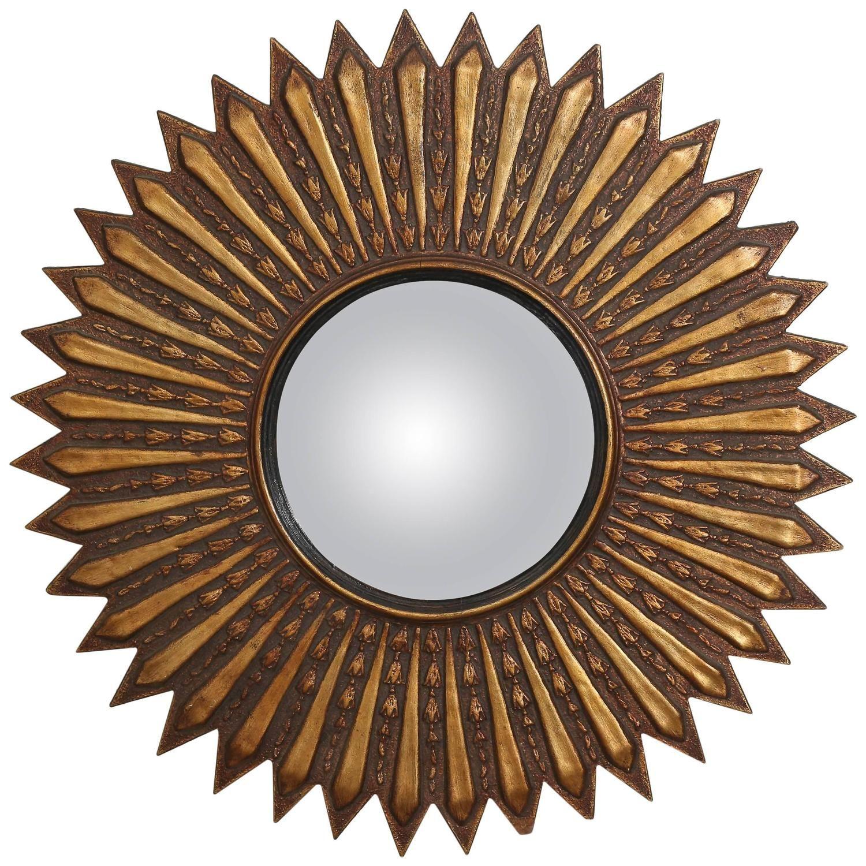 Elegant Mid Century Modern Starburst Mirror