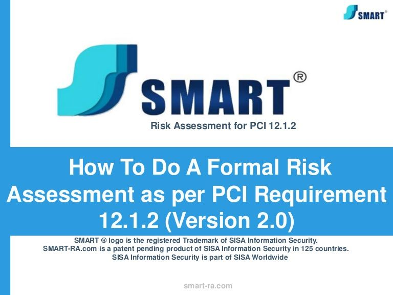 webinar-excerpts-how-to-do-a-formal-risk-assessment-as-per-pci - product risk assessment