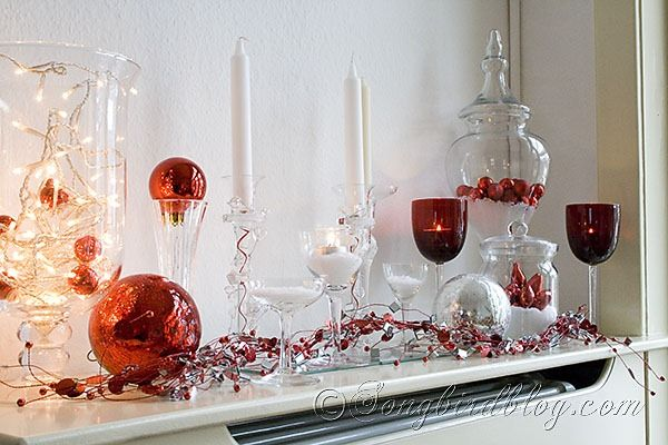 Google Image Result for http://www.songbirdblog.com/wp-content/uploads/Christmas-mantel-in-red-white.jpg